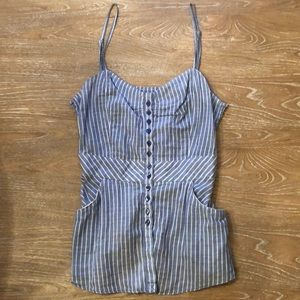Free People Striped Tank